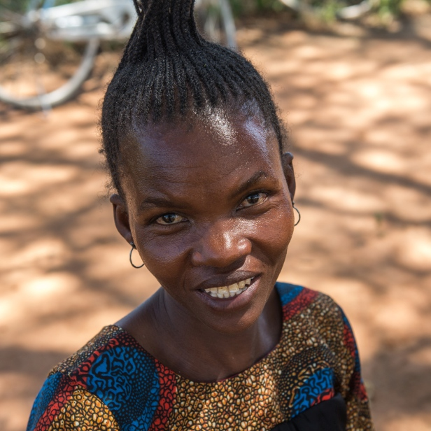 Velonika, beneficiary of the MAF medical safari at Chidudu, Tanzania. By LuAnne Cadd