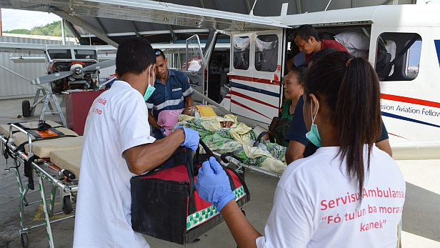 MAF's 1000th medevac in Timor-Leste
