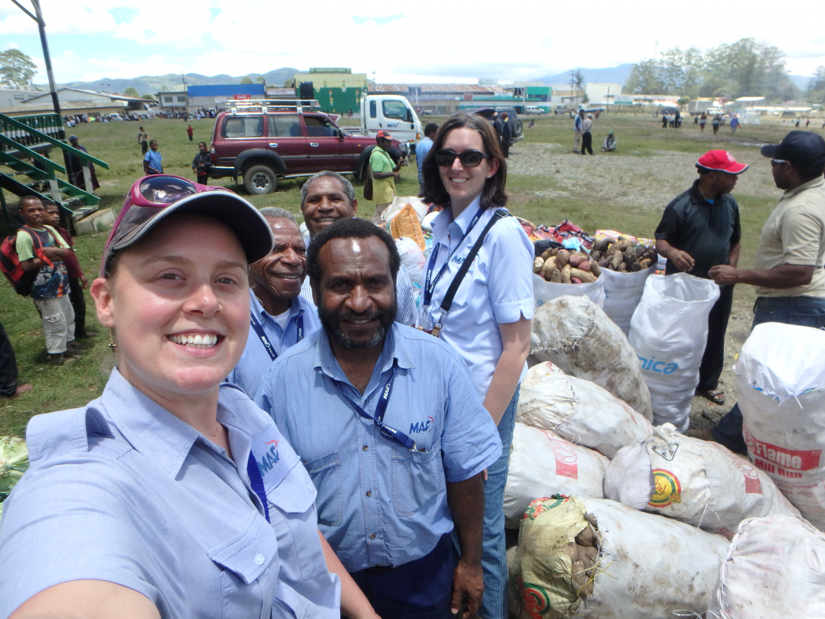 Mt Hagen Church donations