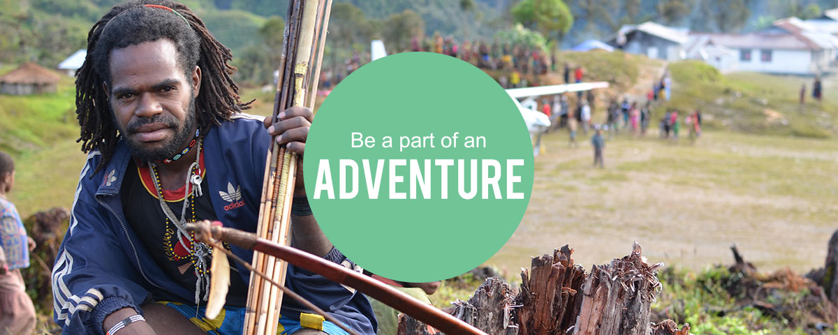 Be part of an adventure