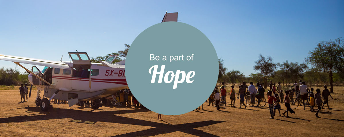 Be part of hope