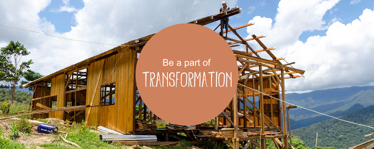 Be part of transformation