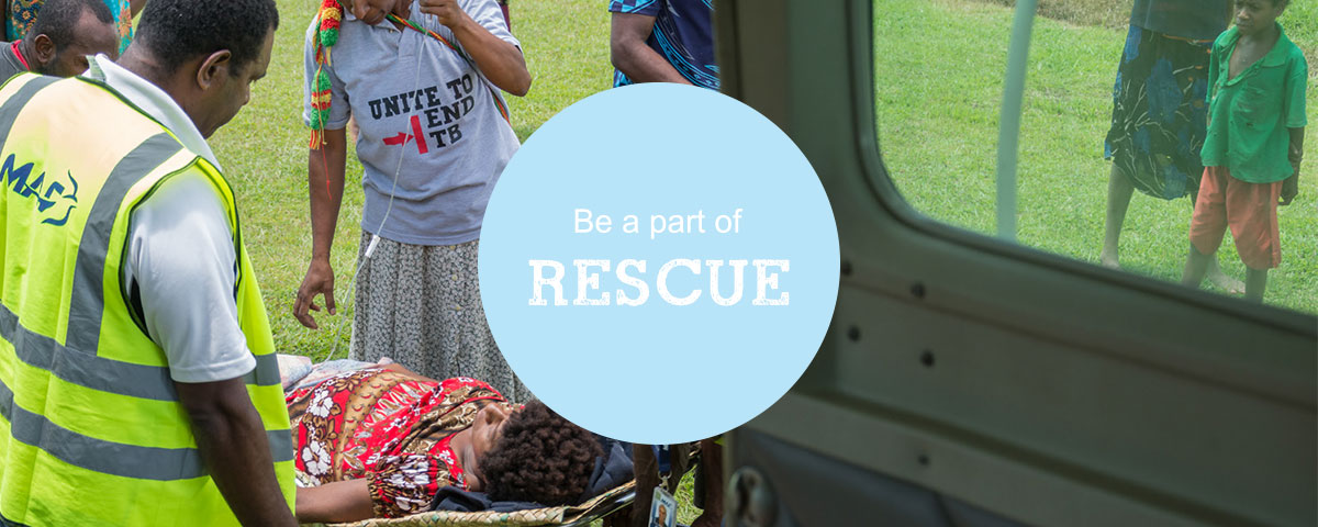Be part of rescue