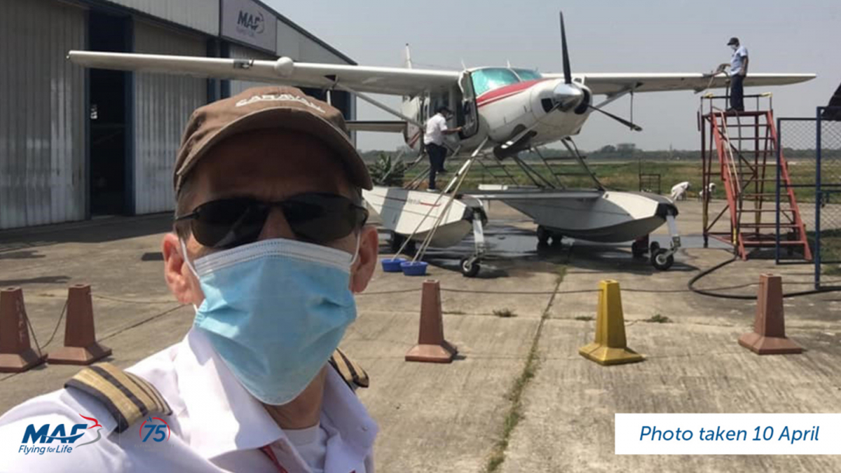 MAF Pilot, Chad Tilley, joins forces with Bangladeshi authorities and the Swiss Embassy to rescue a teacher and charity worker who are stranded by the lockdown in a remote area of the Sundarbans