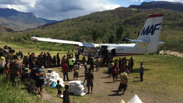 Thumbnail for Famine relief flights reach Papua New Guineas remote villages
