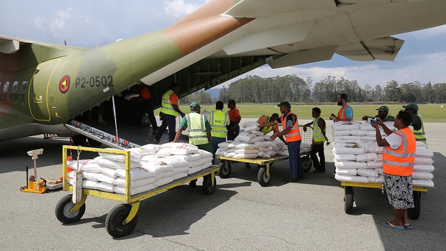 Rice to be distributed by MAF in PNG