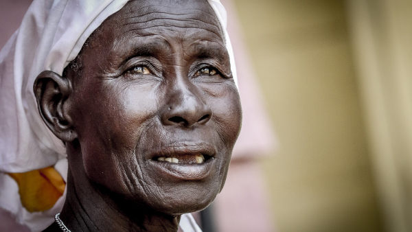 A South Sudanese woman