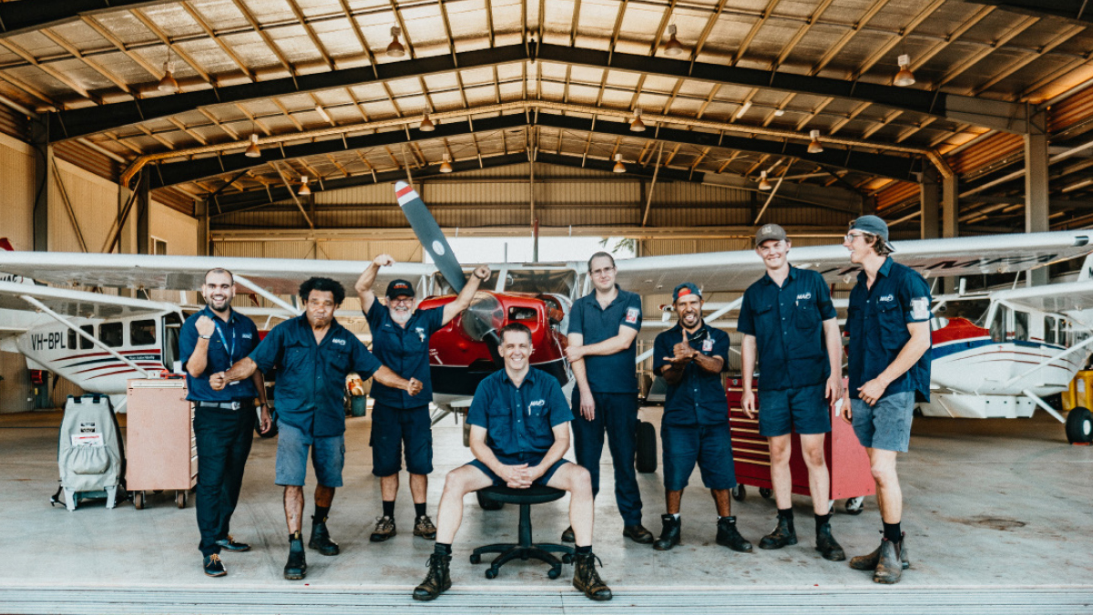 The MAF Arnhem Land engineers