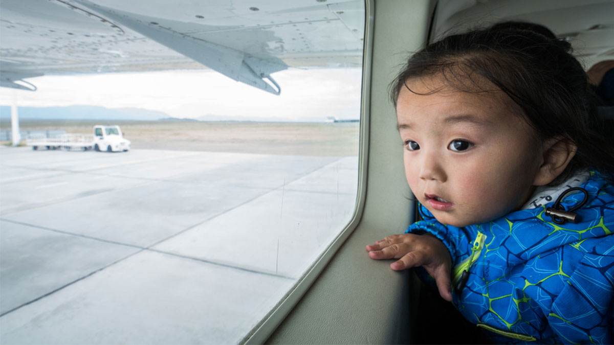 BSA flies child to 'Reaching the Light' therapy in Ulaangom in June 2017