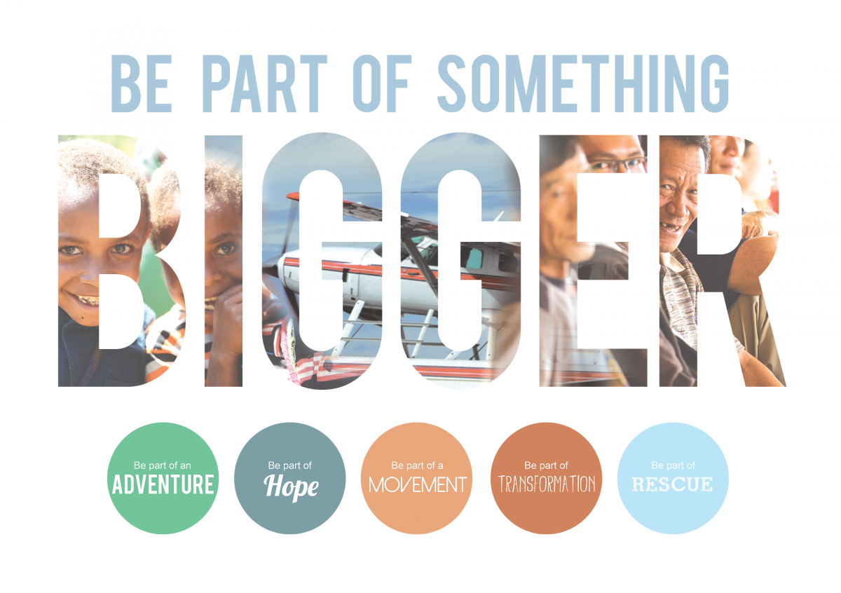 Be Part of Something Bigger