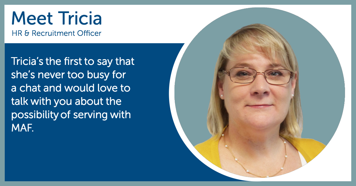 Tricia Holley - HR & Recruitment Officer
