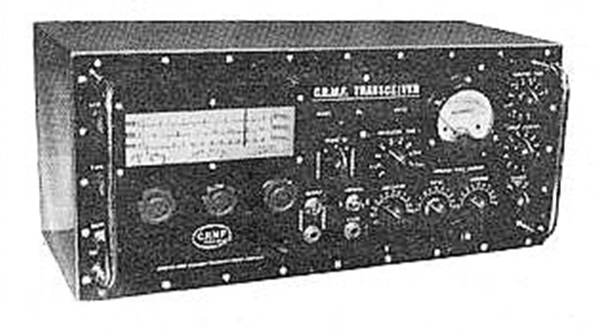 One of CRMF's early transceivers