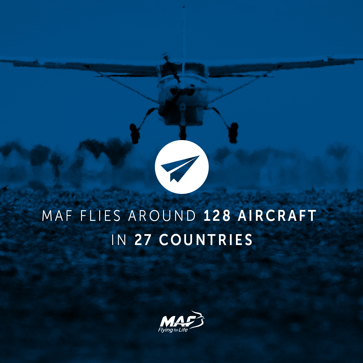 Planes and Countries MAF operate in