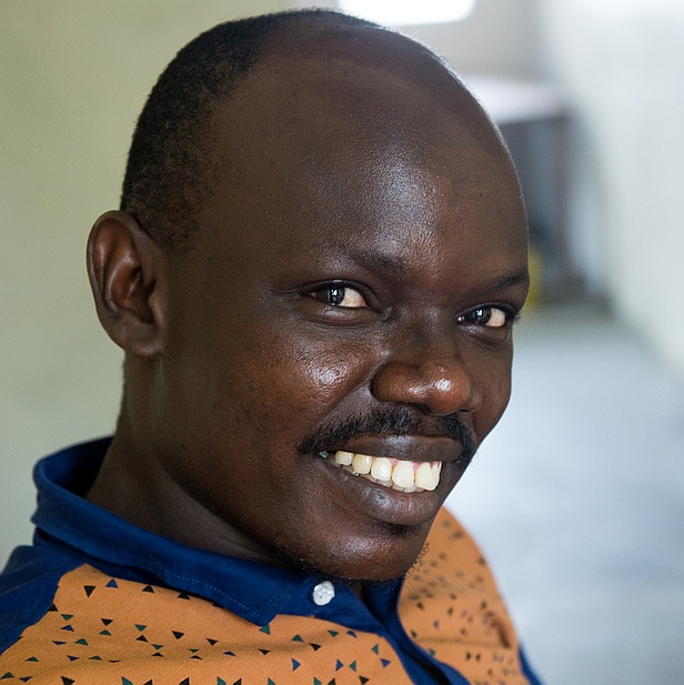 Joseph Duduka, Nutrition Project Manager for Tearfund in Uror County, South Sudan