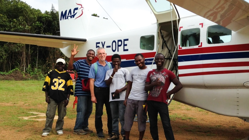 Thumbnail for Water Missions flies to provide safe water in Liberia