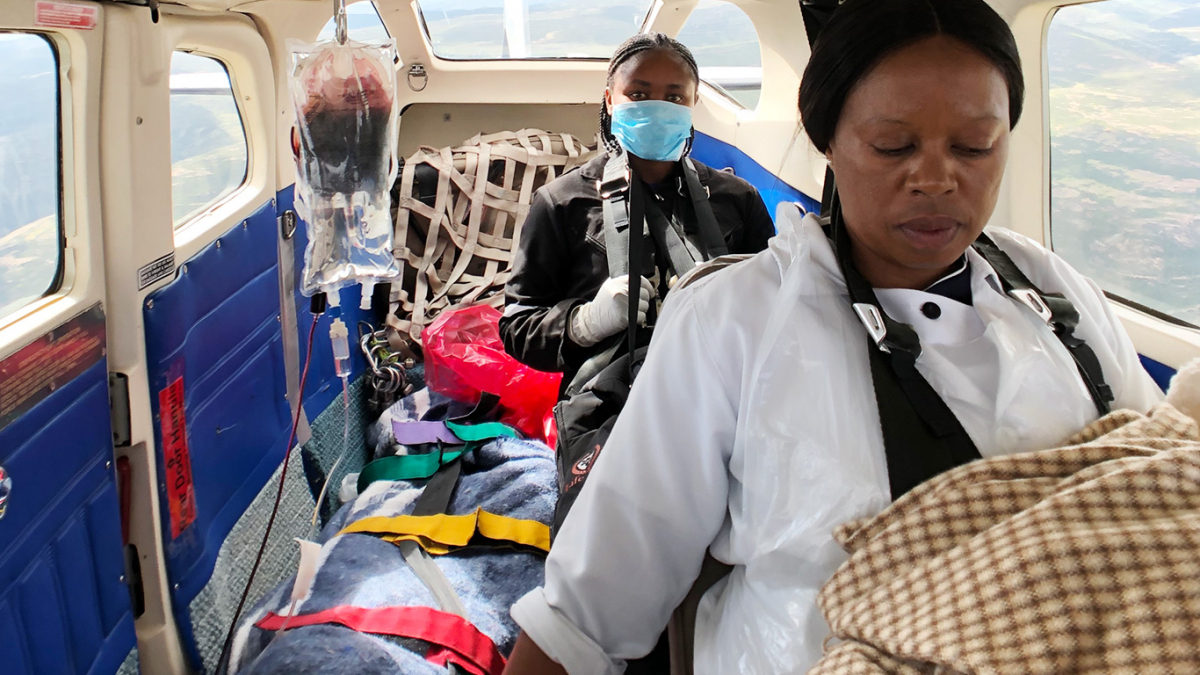MAF responding to COVID-19 in Lesotho