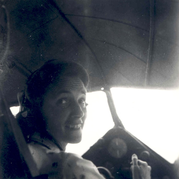 Betty Greene, the pilot of MAF's first flight