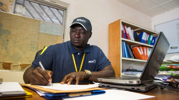 Honore, MAF Flight Bookings Officer in Chad