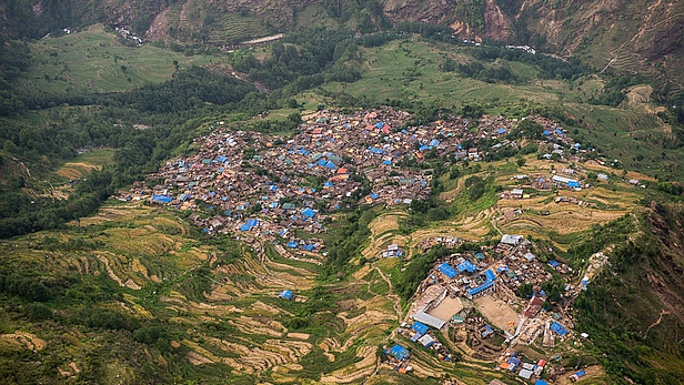 Laprak, Nepal. Photo credit: MAF/LuAnne Cadd