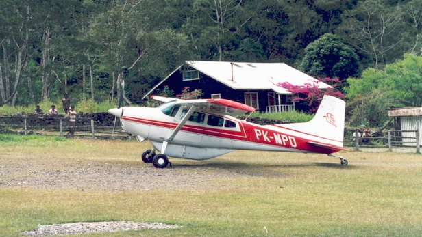 MAF aircraft in Papua, Indonesia