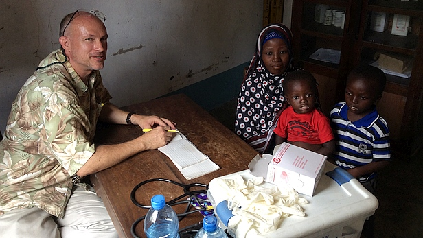 MAF brings a medical team to the Rufiji Delta, Tanzania