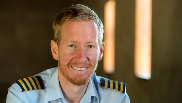 Kirstein Combrink, MAF pilot in Tanzania