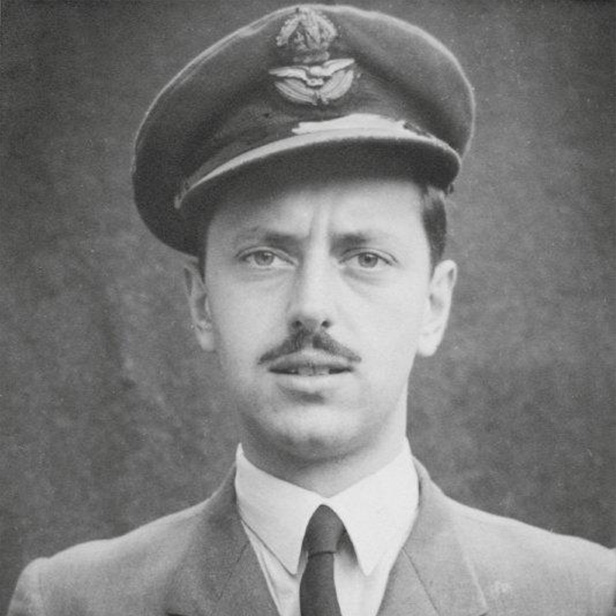 Stuart King in RAF uniform