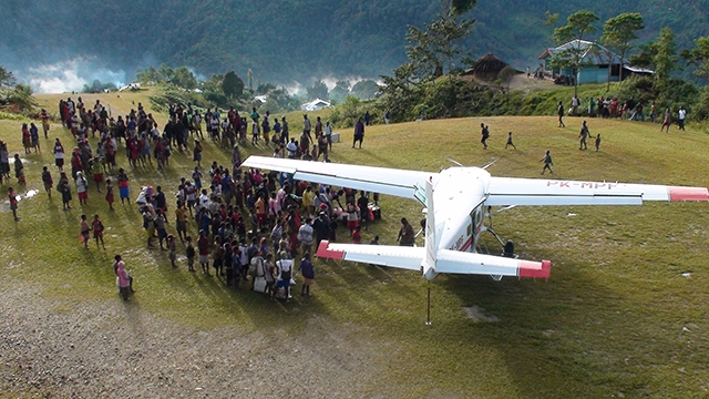 MAF's emergency flights save lives in Papua