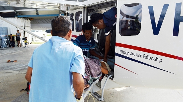 MAF saves its 700th emergency patient in Timor-Leste
