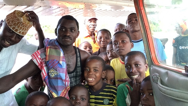MAF brings help to the isolated Rufiji Delta